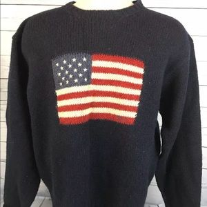 Polo Ralph Lauren large 100% lambswool sweater